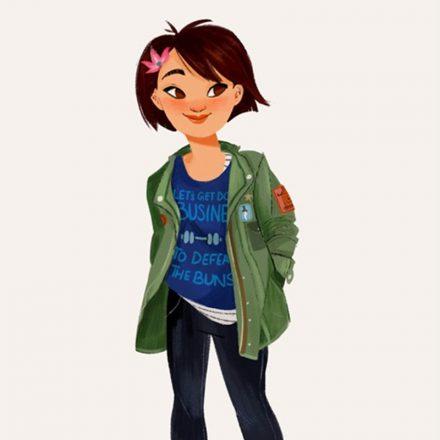 Cum ar arata printesele Disney daca ar fi adolescente moderne