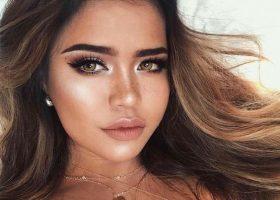Trend 2016- Buze de mere, culori electrice pentru make-up, si pielea bronzata.