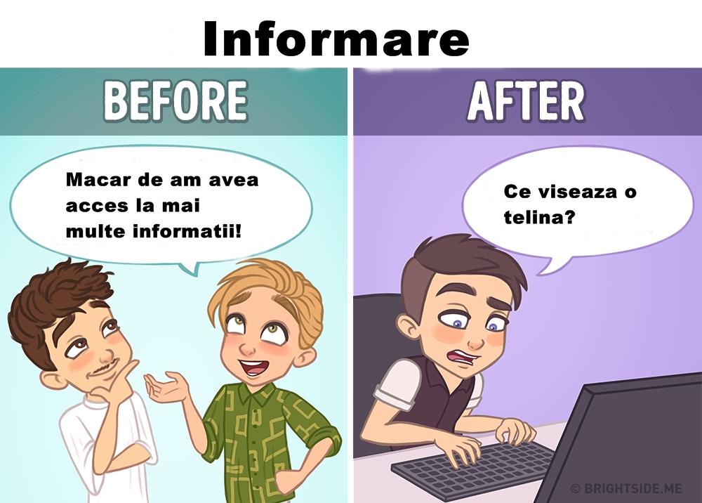 Ilustratii despre internet