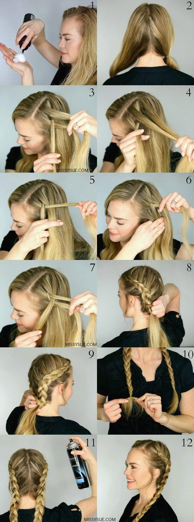 9 Tutoriale Pentru Coafuri Simple Si Lejere We Beauty