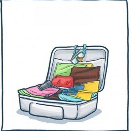 10 trucuri excelente pentru a impacheta lucrurile pentru vacanta!