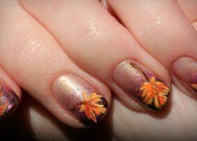 Culorile si forma unghiilor in aceasta toamna