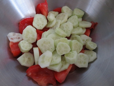 Salata asezonata