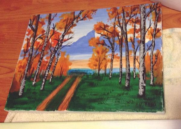 pictura cu natura