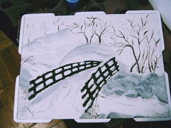 pictura de iarna