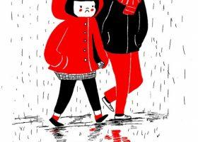 Cum arata dragostea cand totul se imparte la 2- ilustratii