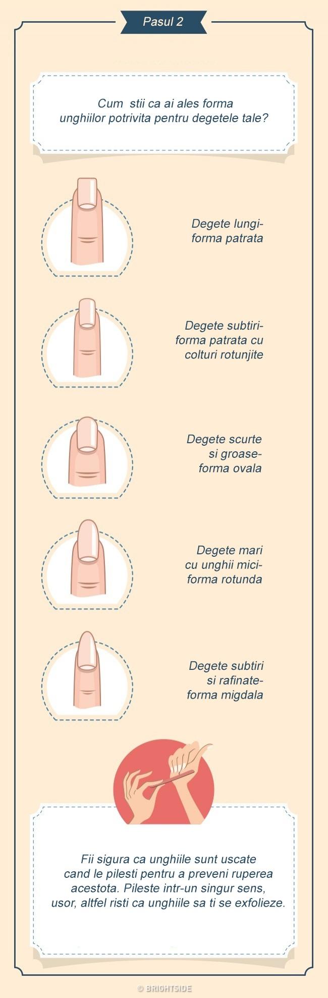 intretinere manichiura