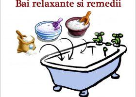 10 remedii terapeutice prin băi relaxante