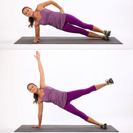 20 de moduri super eficiente de a face exerciții plank