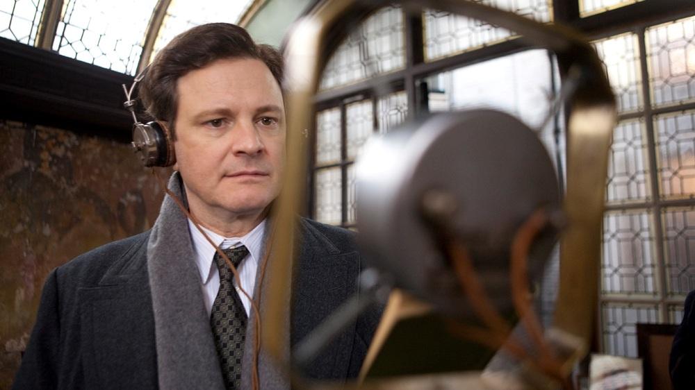 Colin Firth în filmul The King's Speech