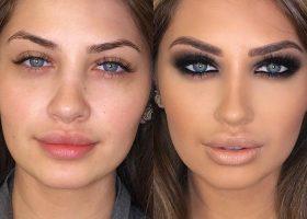 Transformari uimitoare. Ce poate face un make-up artist