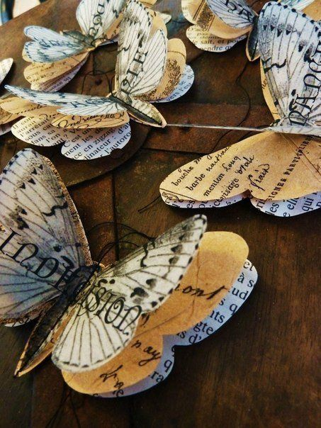 Fluturi handmade 1