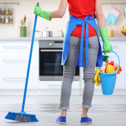 Cinci metode pentru a face curățenia casei mai gestionabilă