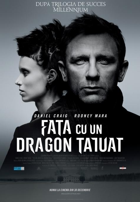 FATA CU DRAGON TATUAT - DE DAVID FINCHER