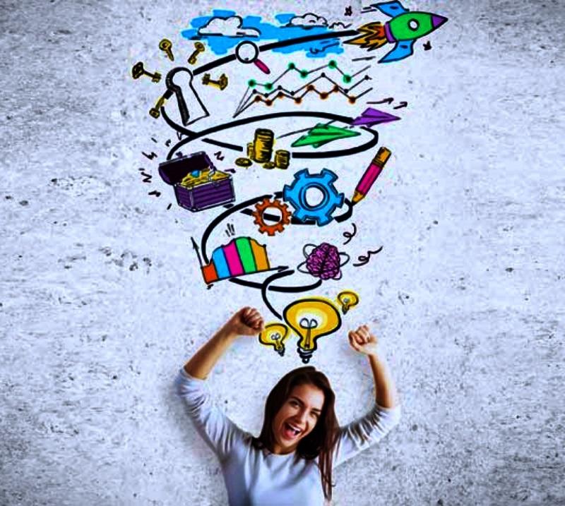 50 de modalități de a fi mai creativ în viața ta de zi cu zi