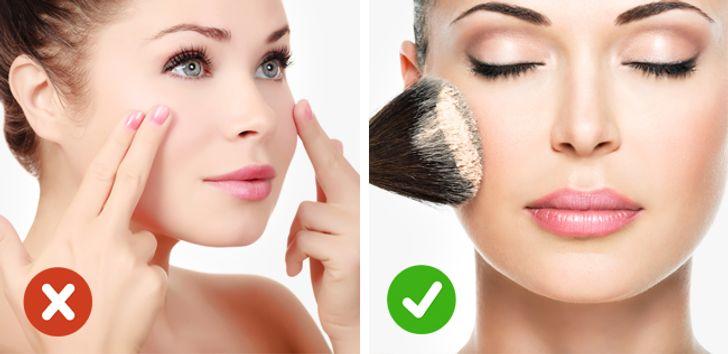 Aplicarea produselor cosmetice