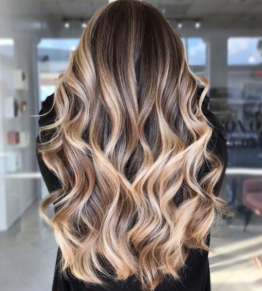 Idei de balayage blond trendy de incercat in 2021